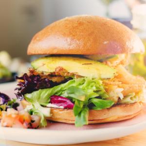 California Breakfast Club Breakfast Burger