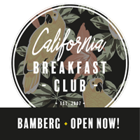 Bamberg California Breakfast Club Open now